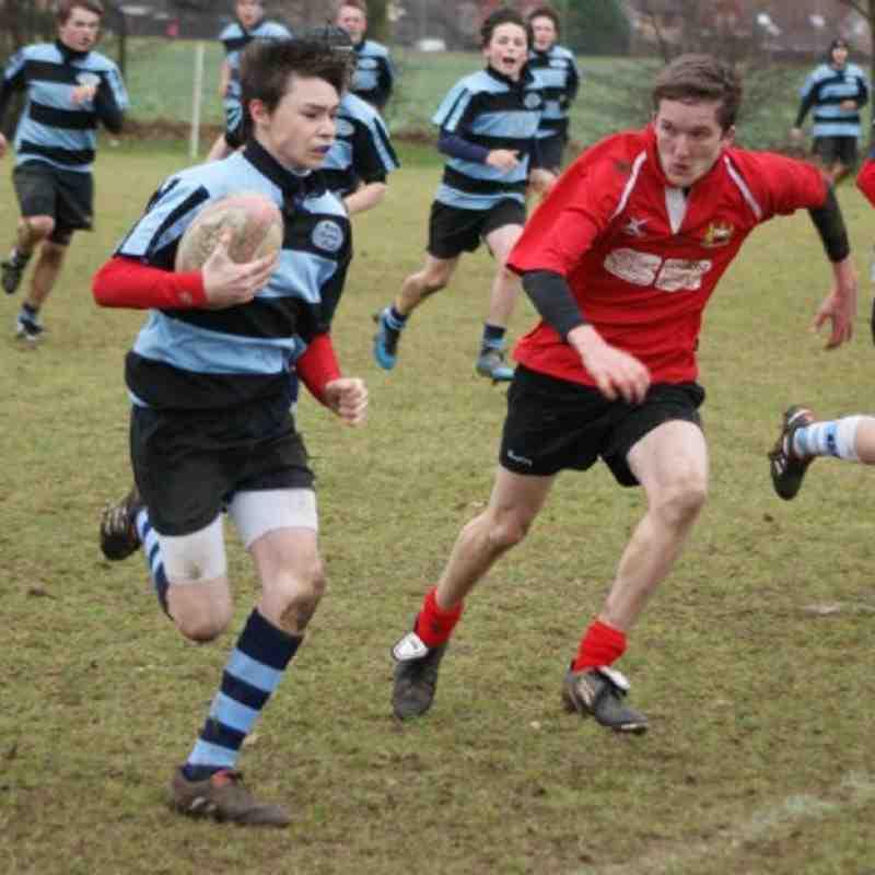 U14s Fenland Barbarians 17 - 17 Wisbech 13 Feb '11