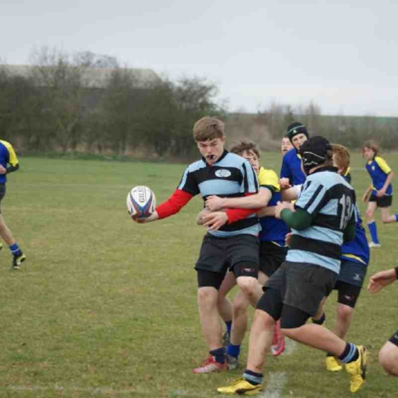 U15s St Ives 12 - 10 Fenland Barbarians - 25 March 2012
