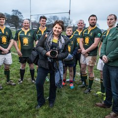 Wessex RFC working with RAMM Photographic World Cup Project