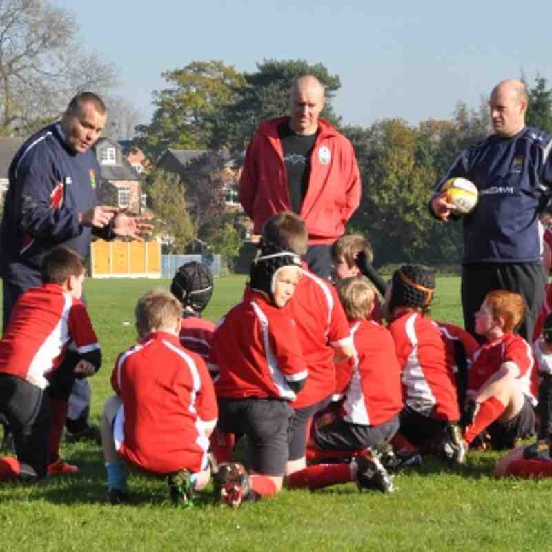 U10's v Trafford - 6th November 2011