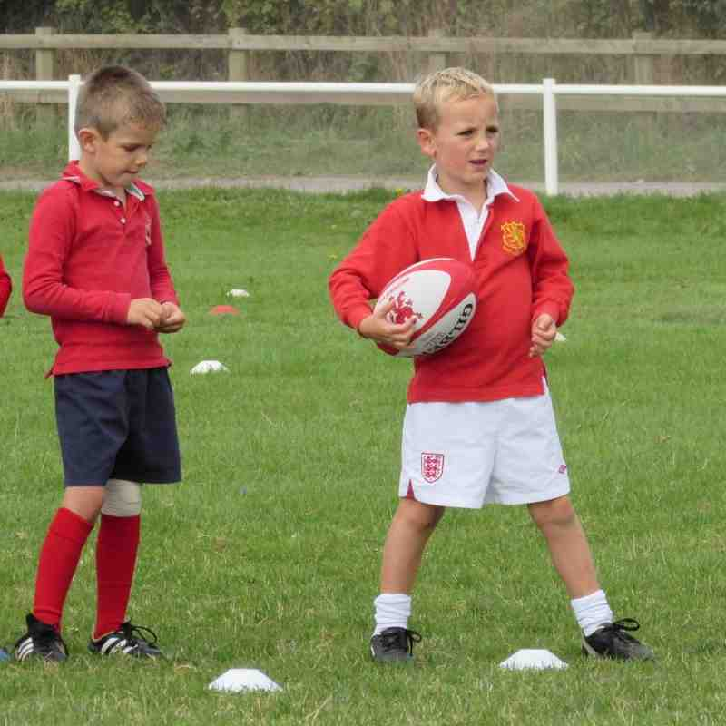 U7s in training Sep '14