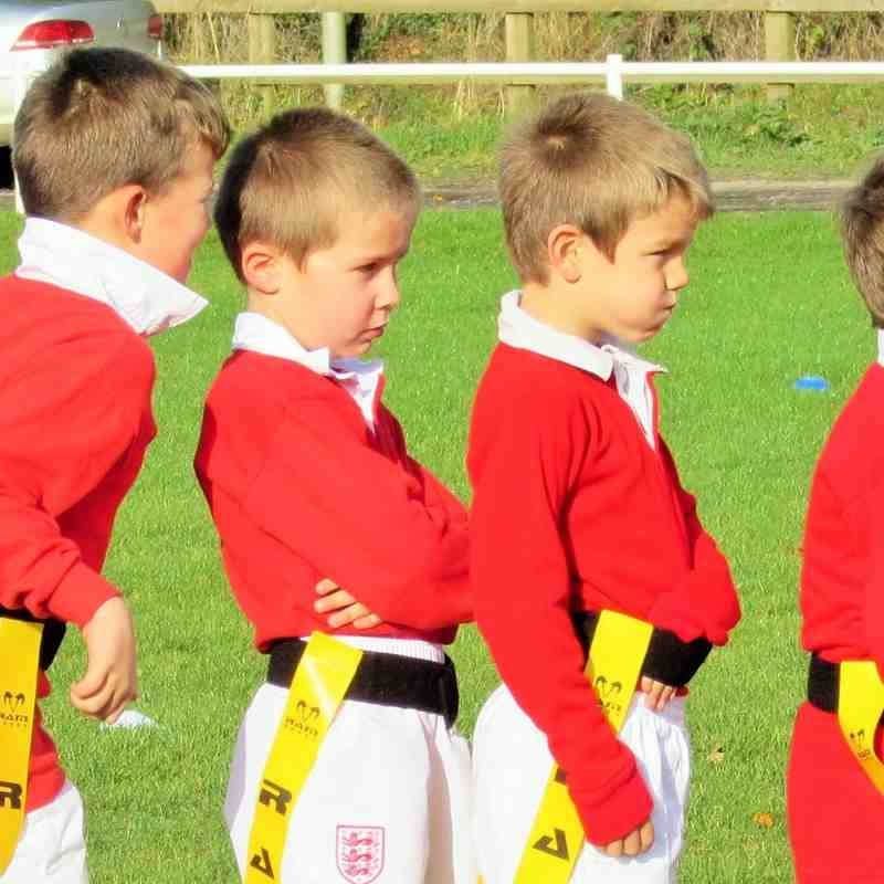 Whitchurch U7s v Oswestry Oct '14