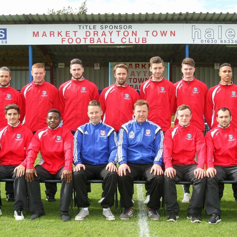 First Team beat Ellesmere Rangers(T J Vickers Cup) 1 - 0