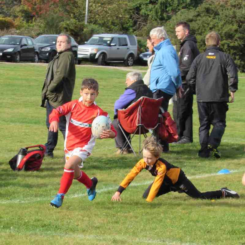 Caldy v Whitchurch u9s 2015/16