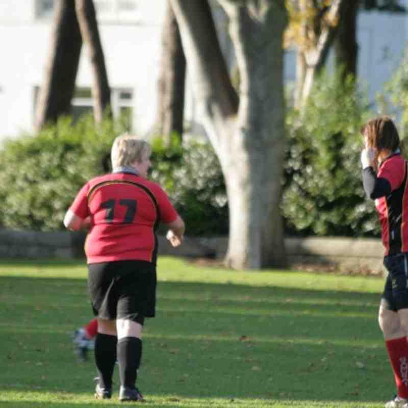 Madras v Grangemouth Ladies. 31/10/2010