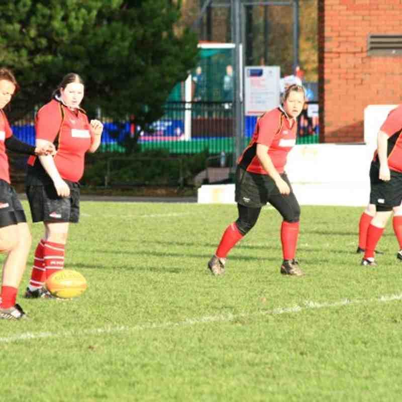 Edinburgh Uni 2nds v Grangemouth Ladies 7/11/2010