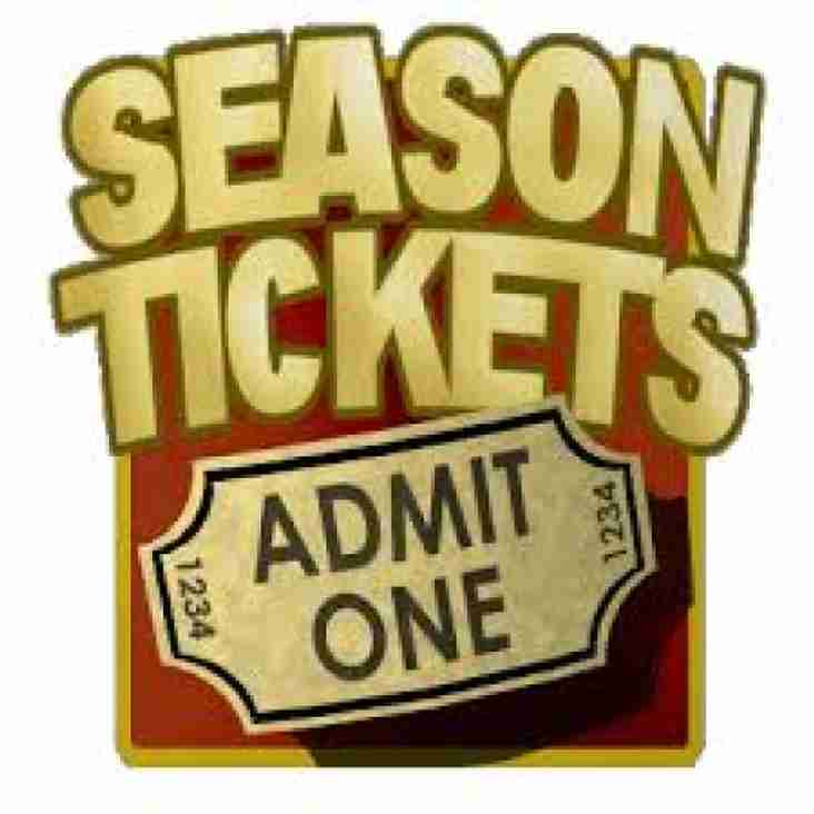 New Season Ticket Announced!