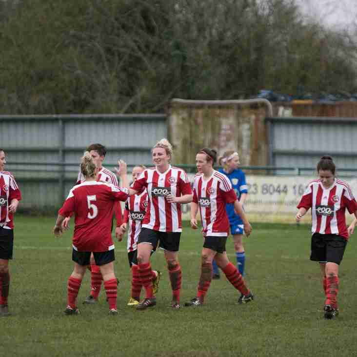 Album of Saints Ladies v Basingstoke
