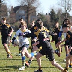 U15s - vs Canterbury - Kent Cup - Feb 2018 - W 22-13