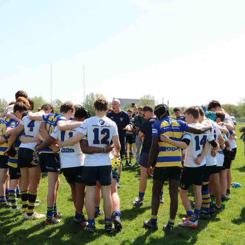 U15s vs Kent & Development Cup Finals - April 2018 - W 36:7 & 38:21