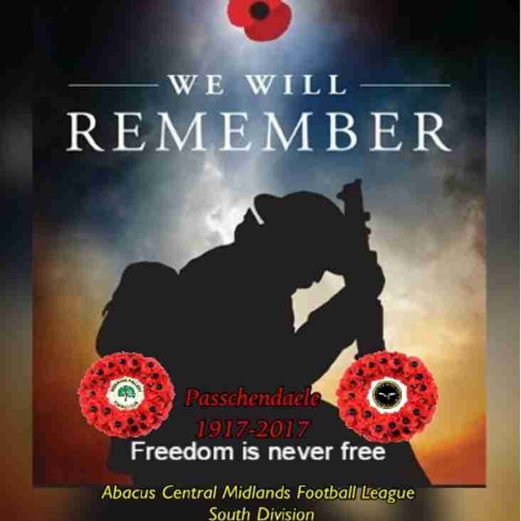 Special Remembrance Day programme