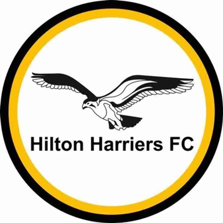 Positions available at Hilton Harriers
