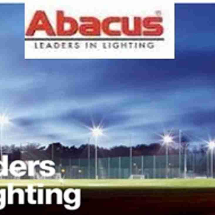 Abacus Lighting renew sponsorship