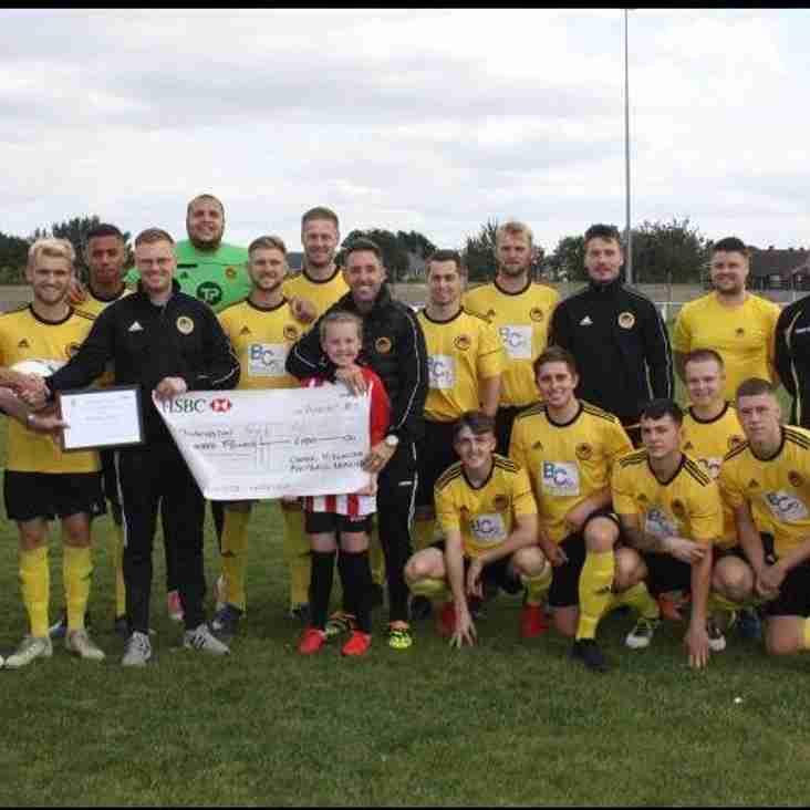 Team of the Month award to Dinnington