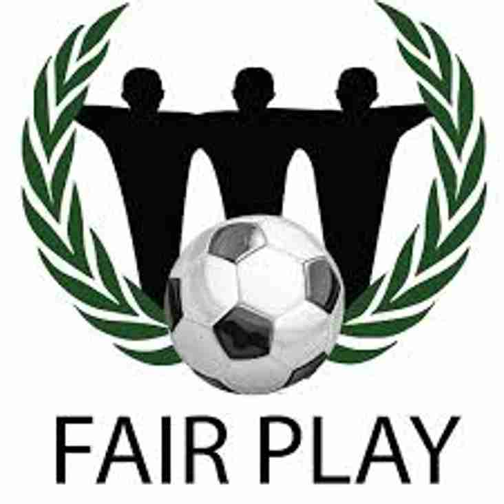 Fair Play awards announced