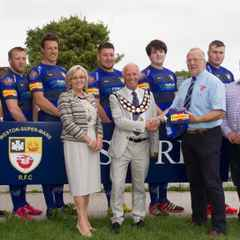 LOVE WESTON CONTINUE SPONSORSHIP OF WESTON-SUPER-MARE RFC KIT FOR THE 2016/17 SEASON