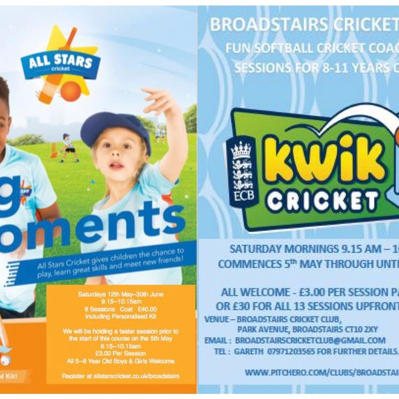 Summer 2018 Allstars & Kwik Cricket