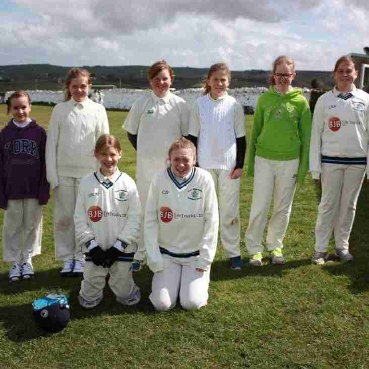 Excellent u13 game on top of the Pennines!