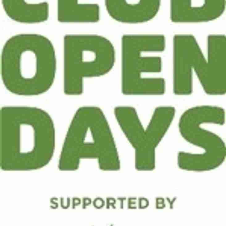 Come and join in - Club Open Day, Bank Holiday Monday!