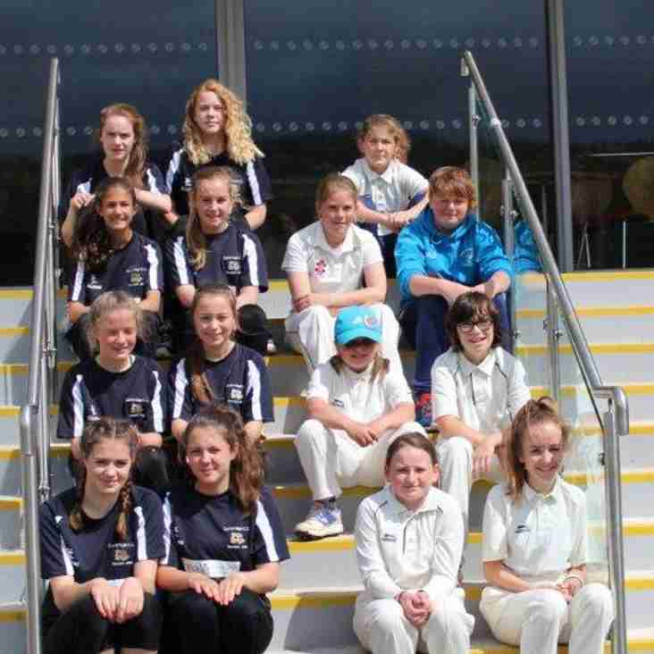 Battling effort in Lady Taverners' u13s last 16 game