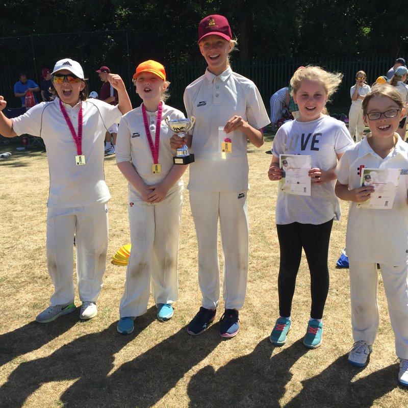 u11 Girls win Lady Taverners' softball tournament