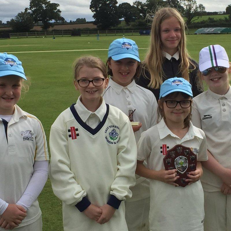 u12 Girls win North Yorkshire tournament