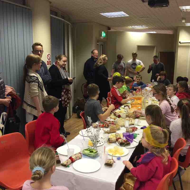 Junior Christmas party 2016