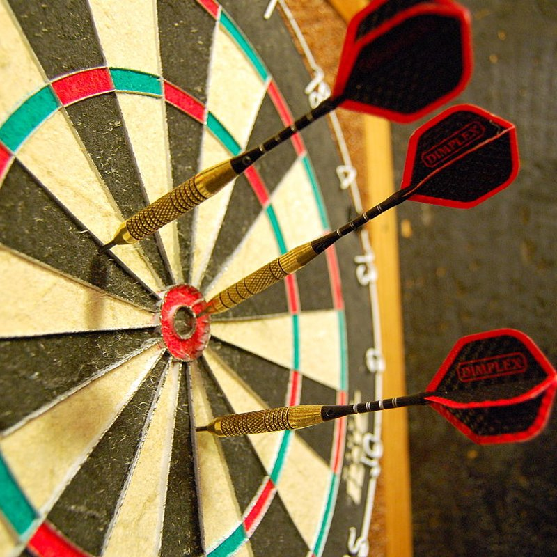 This Friday - darts tournament with a...Mexican theme!