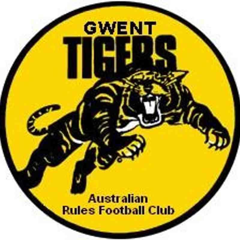 Gwent Tigers emblem.