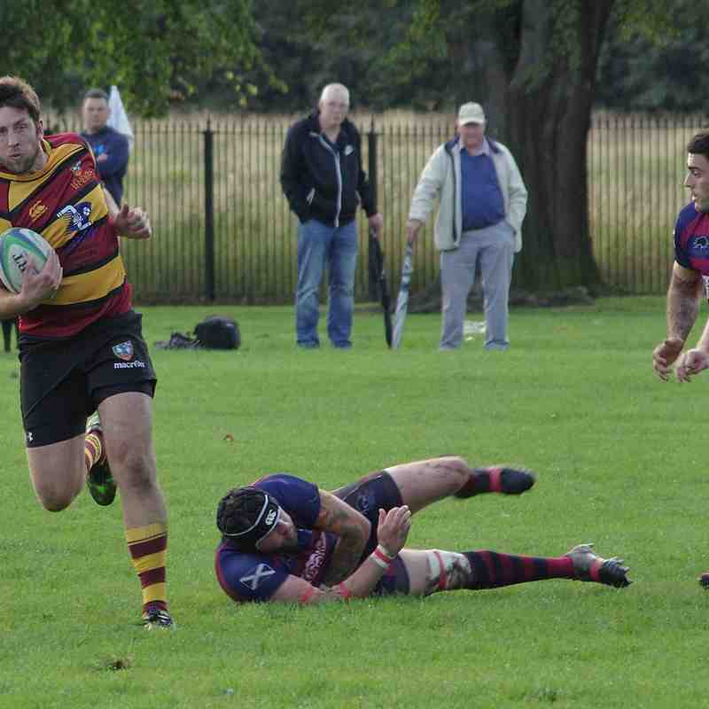 Hillfoots RFC Vs Harris FP (Shield)