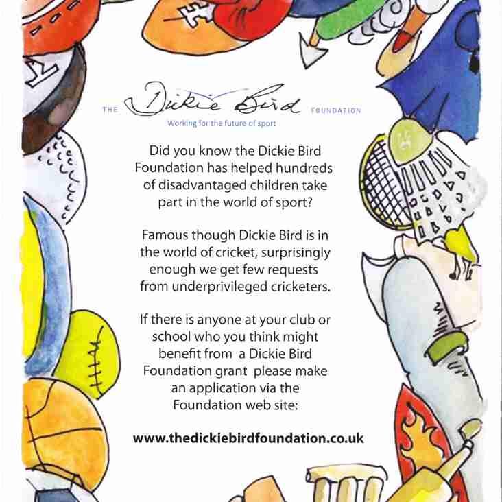 The Dickie Bird Foundation