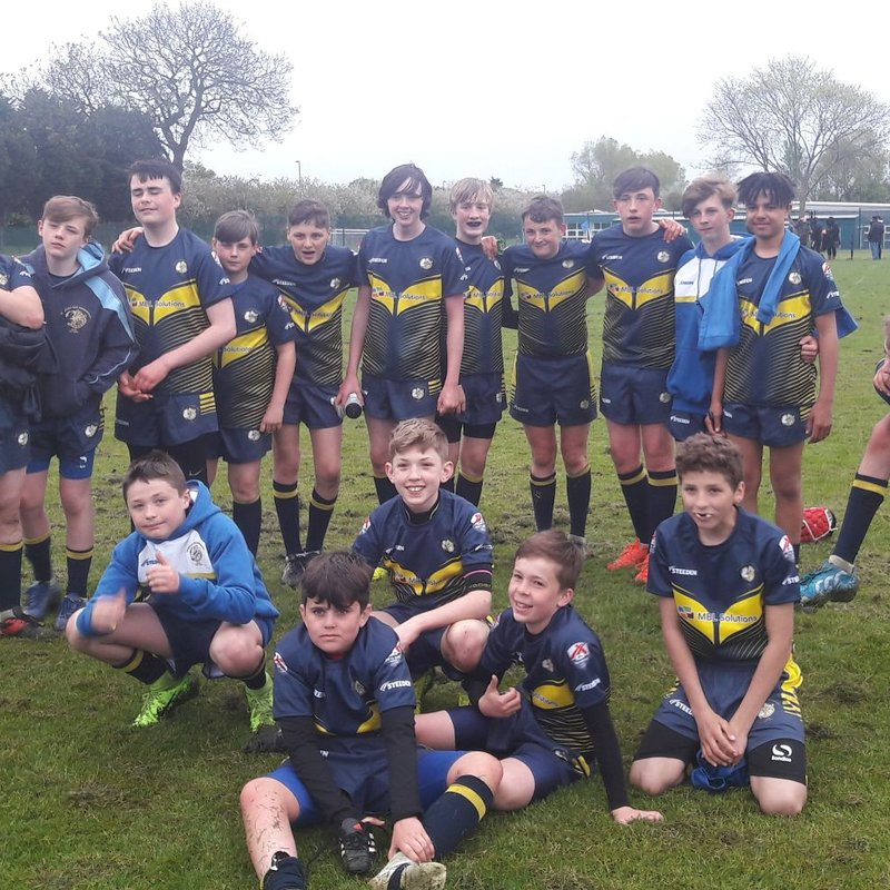 Under 14's Boys lose to Catterick Crusaders 54 - 30