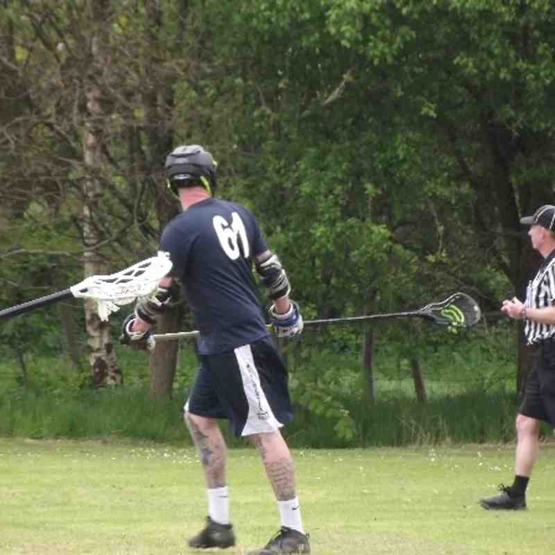 Anthony Baines playing for West Lacrosse at BNC's 2014