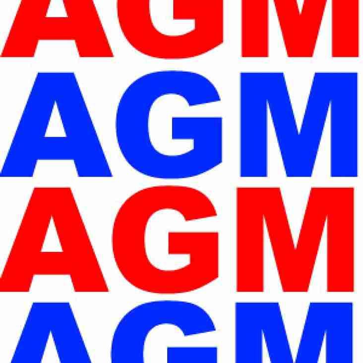 Manor Park RFC - AGM