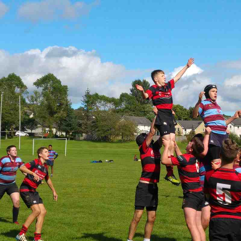 Under 16 v Uddingston - Sun 21 Aug 2016