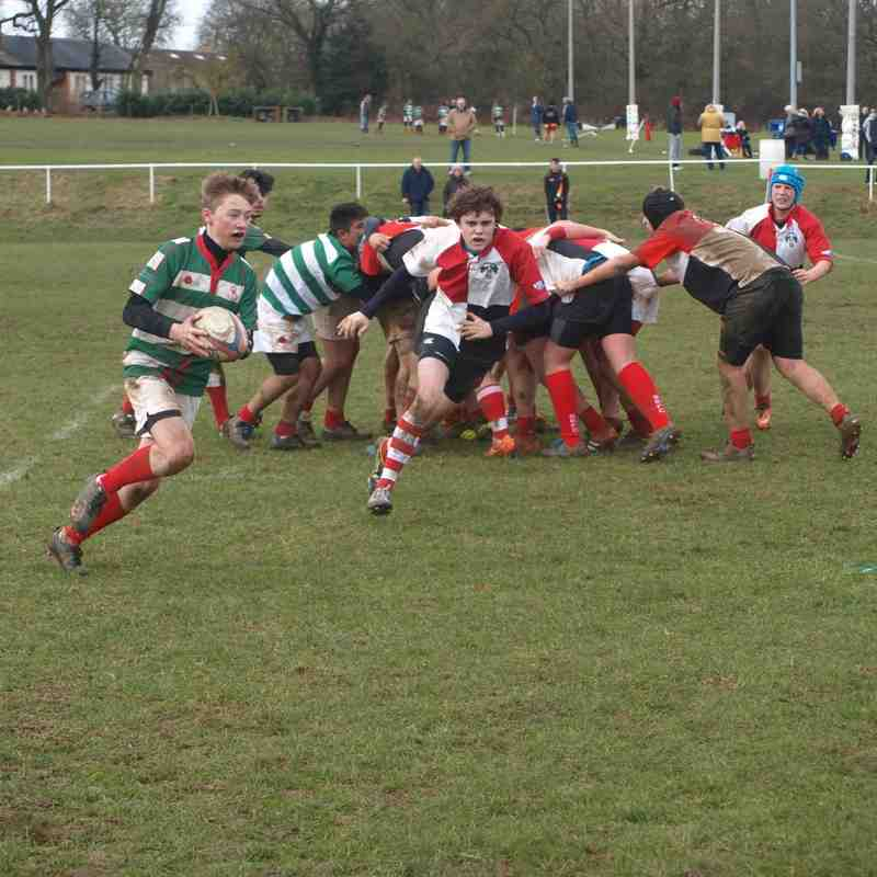 u15s vs. Cheshunt 22.02.2015