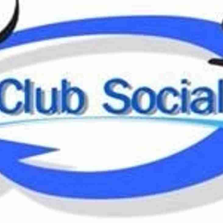 Club social Saturday 24th September