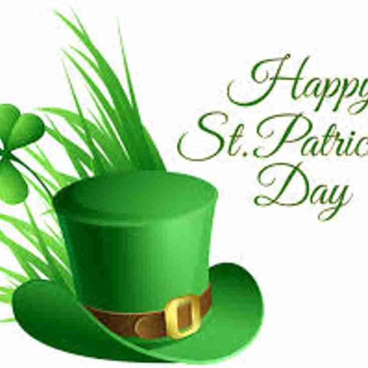Come celebrate Paddy's Day