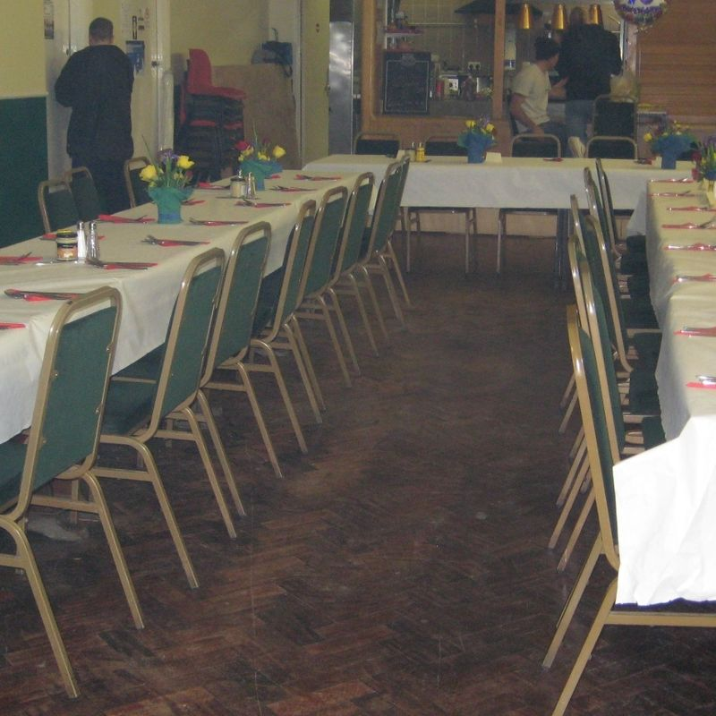 CLUB HALL FOR HIRE