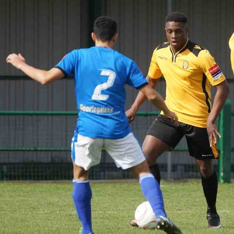 East Thurrock v Gray's Athletic March 2016