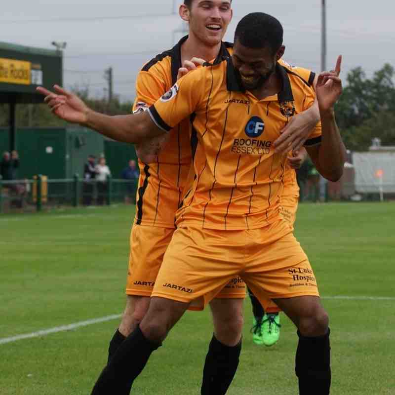 FAC East Thurrock v Whitehawk September 2016