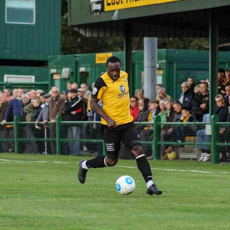 East Thurrock v Weston Super Mare