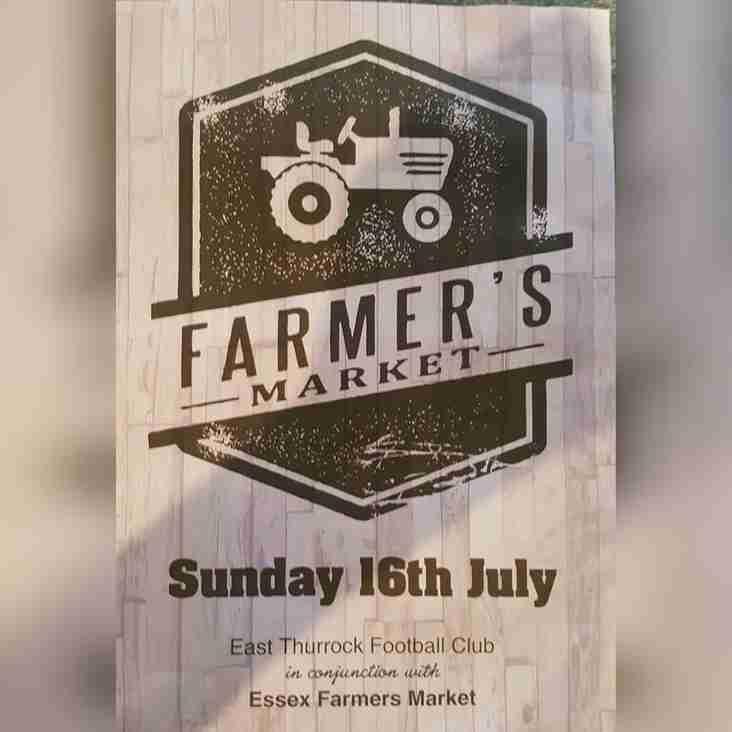 FARMERS MARKET & FUN DAY  - 16th July