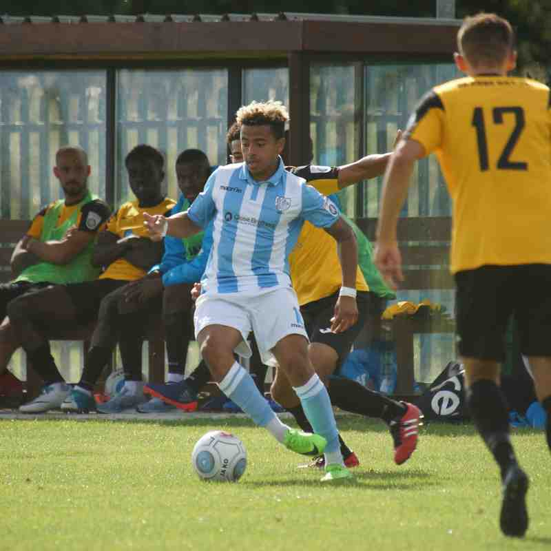East Thurrock v Hampton & Richmond Borough August 2017