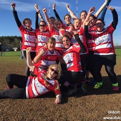 Didcot RUFC Ladies at the Spring Chicks Womens Touch Tournament - March 2017