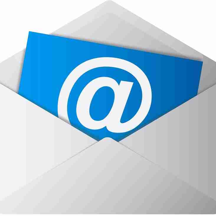 We need your email addresses!