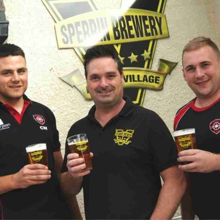Sperrin Brewey signs up for sponsorship ahead of annual beer festival