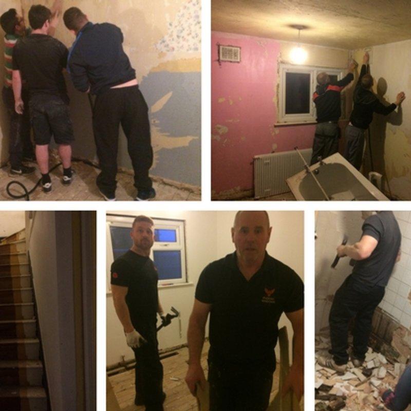 'DIY SOS' house project in memory of Jamie Styles is underway