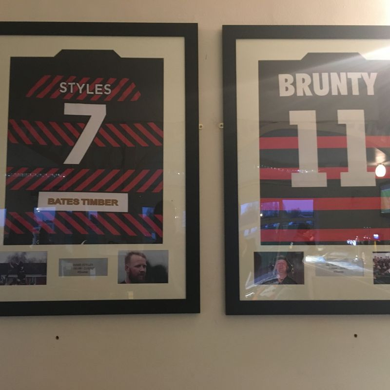 Tributes to Brunty and Jamie Styles go on permanent display
