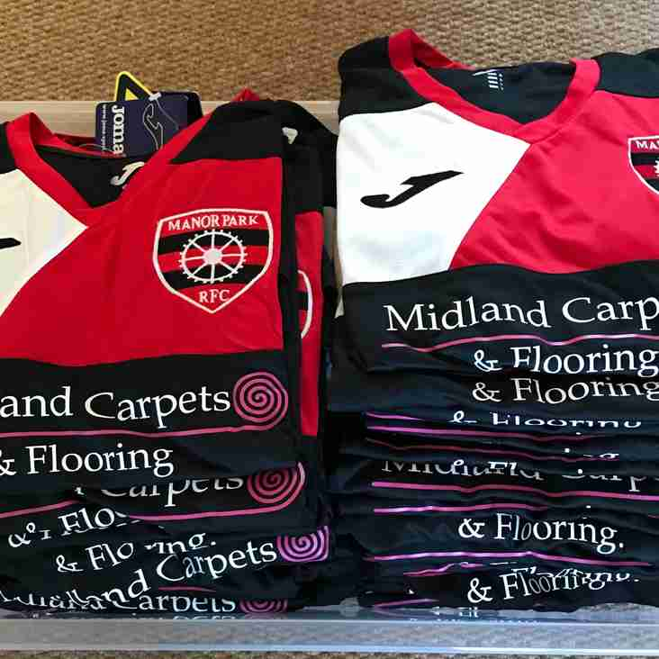 New Midland Carpets and Floorings sponsored t-shirts now available